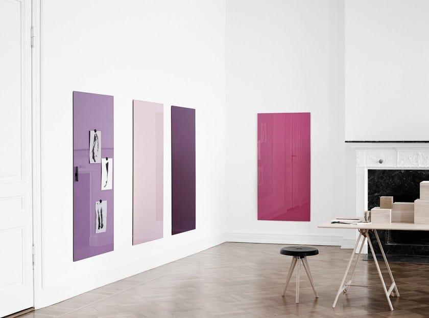 Wall-mounted glass office whiteboard Mood Wall - Lintex