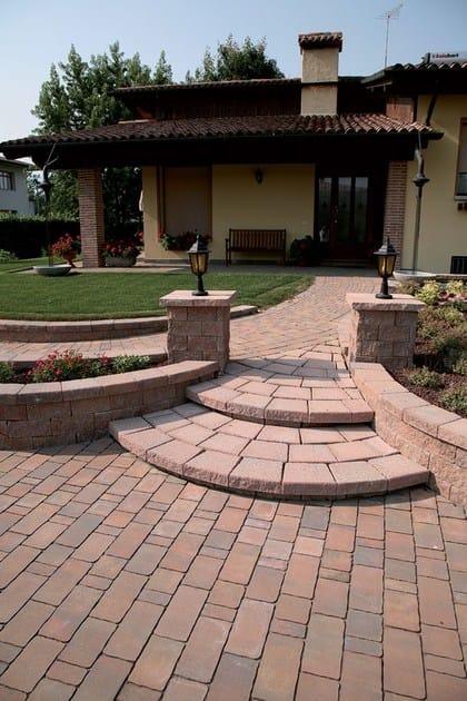 recinzioni giardino in mattoni design casa creativa e