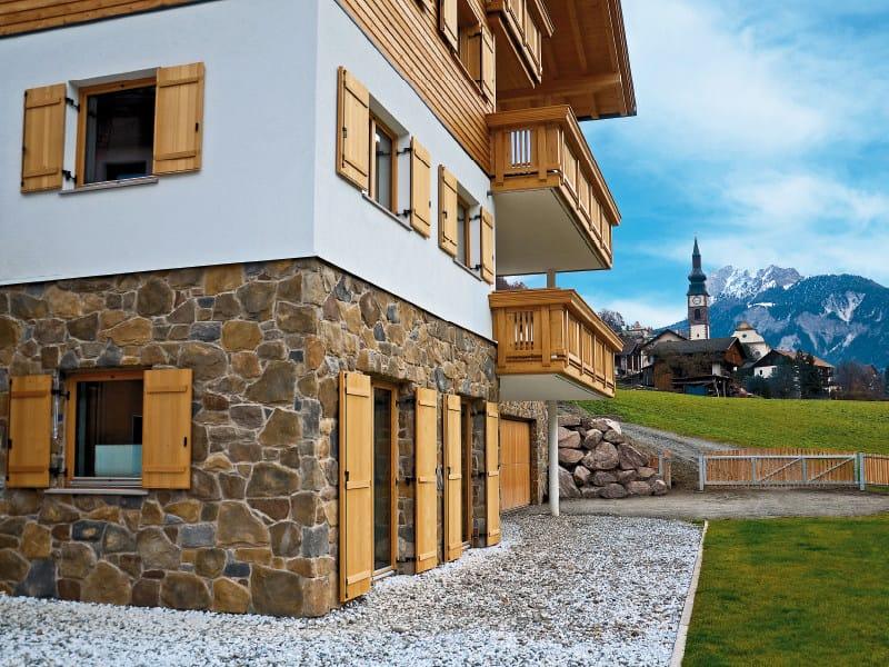 Rivestimento di facciata in pietra ricostruita lavone p04 for Facciate di case in mattoni e pietra