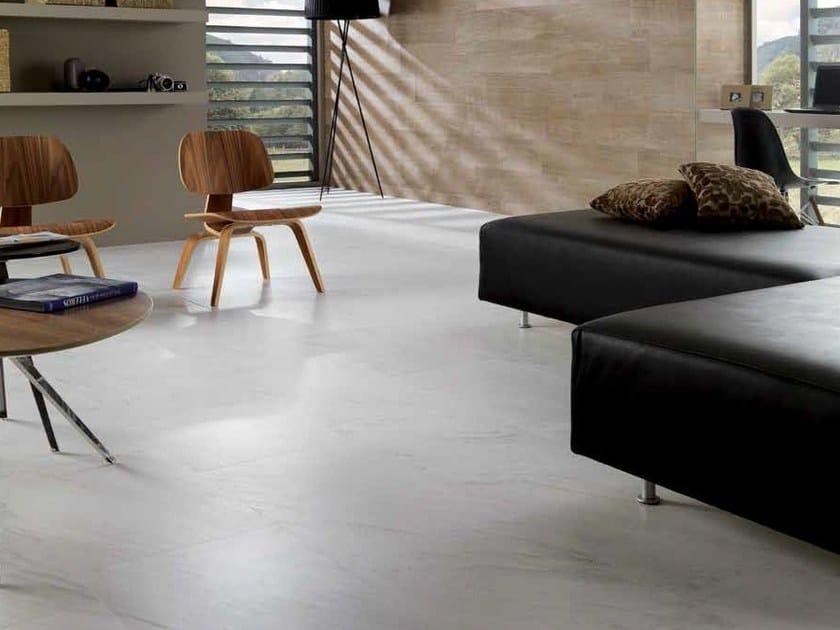 Indoor/outdoor porcelain stoneware flooring with marble effect NÁPOLES | Porcelain stoneware flooring - Venis