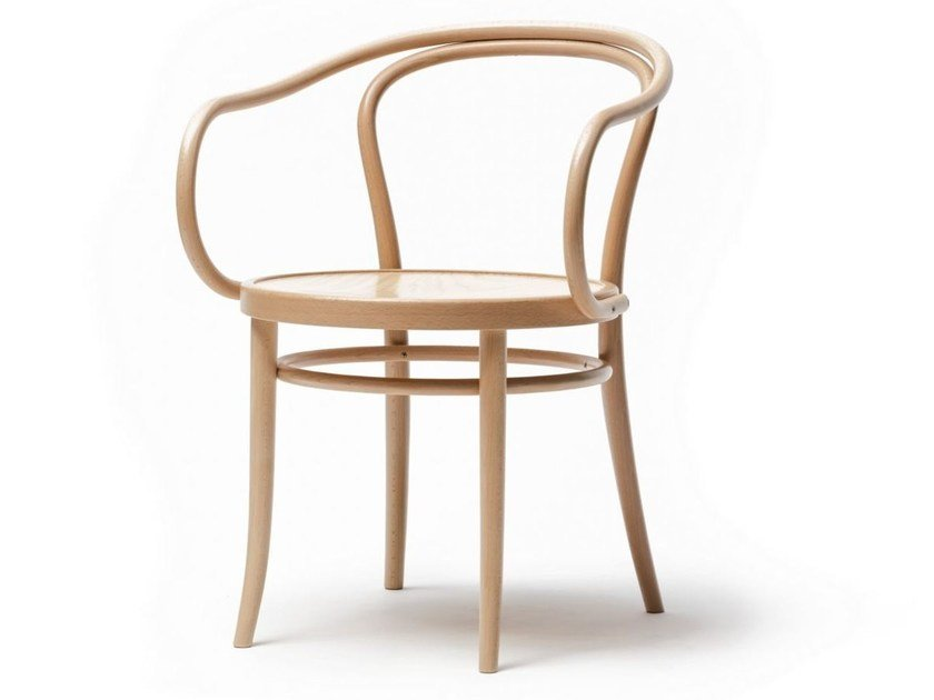 Wooden chair N° 30 by TON