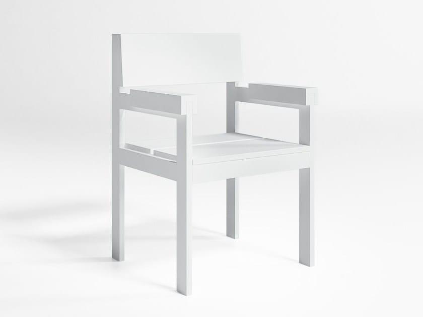 Aluminium garden armchair NA XEMENA   Garden armchair - GANDIA BLASCO