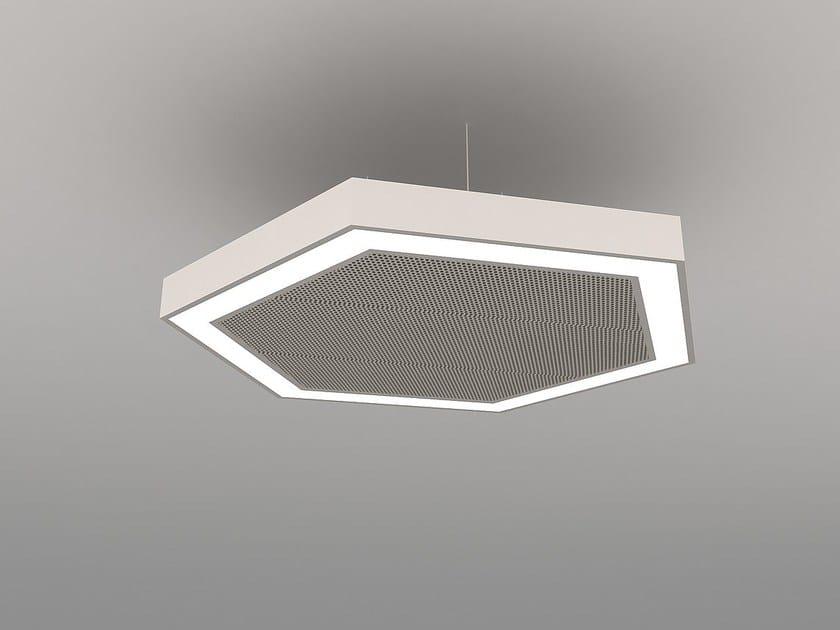 LED pendant lamp NAA H600-900-1200 FB - Neonny