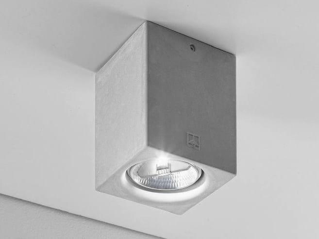 Ceiling spotlight NADIR 7/C by Aldo Bernardi