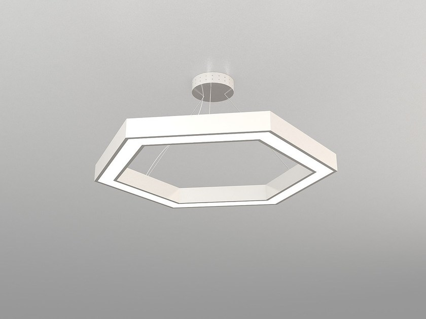 LED pendant lamp NAF H600-H900-H1200 by Neonny