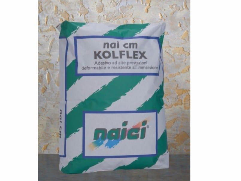Cement adhesive for flooring NAI CM KOLFLEX - NAICI ITALIA