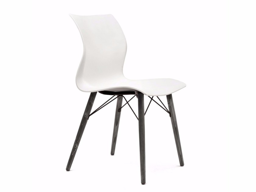 Polypropylene chair NAMI WOOD - Segis