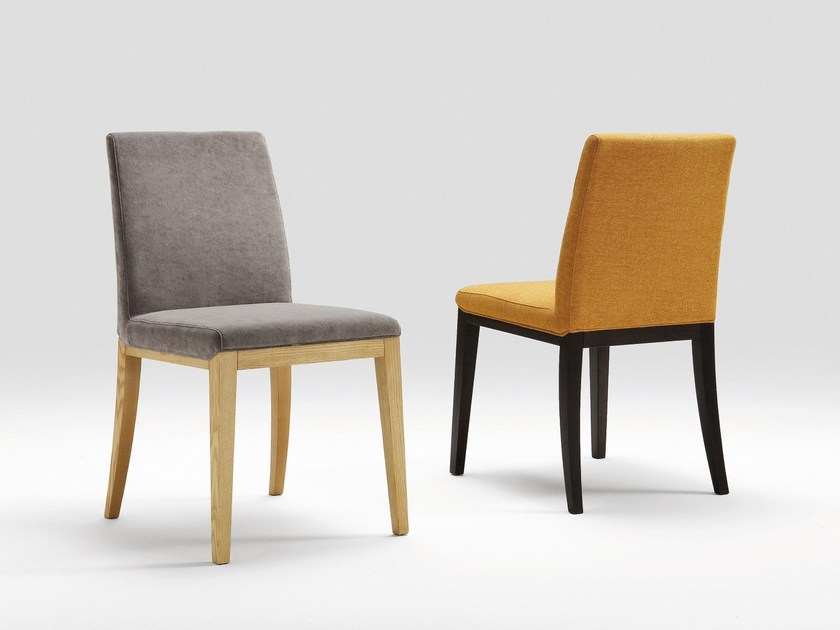 Upholstered fabric chair NANCY by Natisa