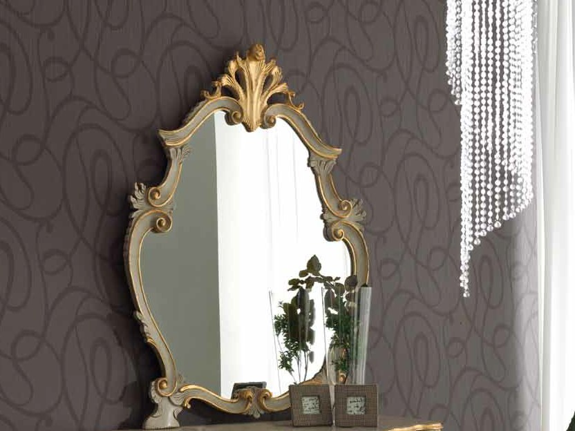 Countertop framed mirror NATALY | Mirror - Arvestyle