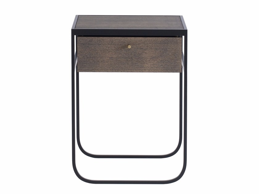 Wood veneer coffee table / bedside table NATI TATI | Coffee table with storage space by ASPLUND
