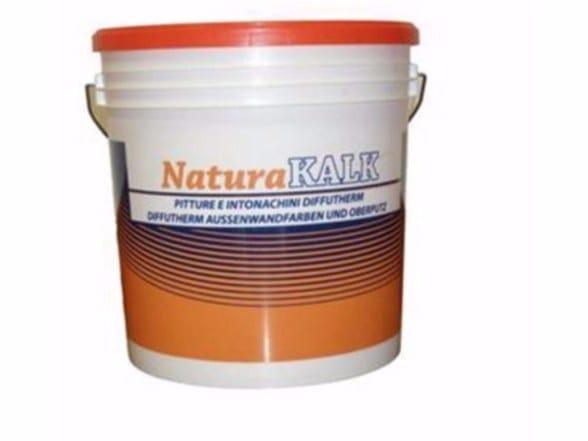 Natural plaster for sustainable building NATURAKALK-SILICATI I - Naturalia-BAU