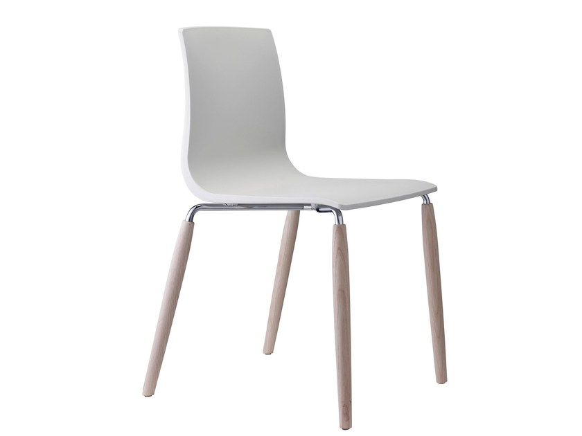 Technopolymer chair NATURAL ALICE by SCAB DESIGN