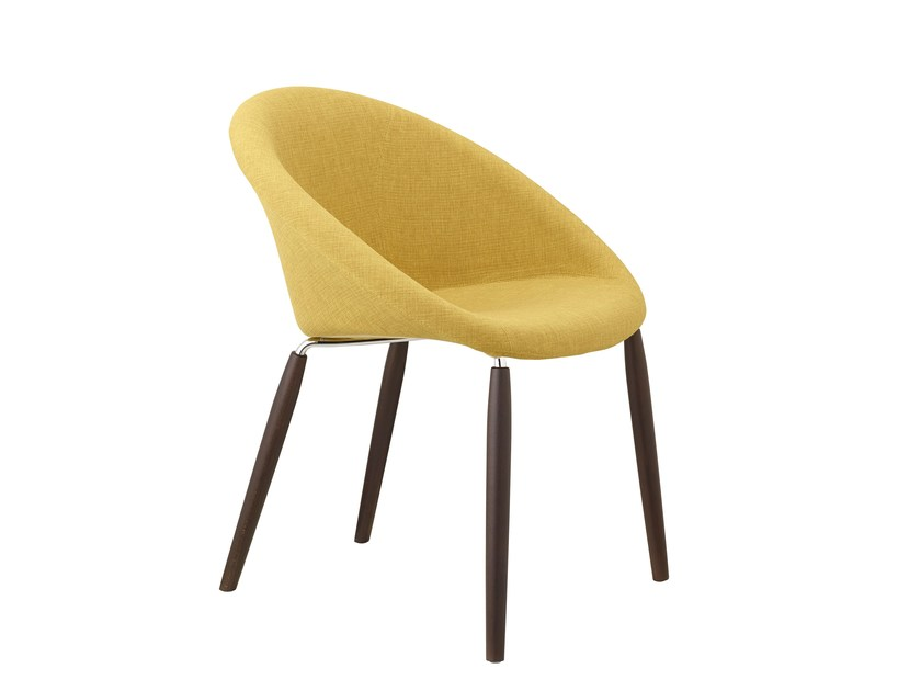 Fabric chair NATURAL GIULIA POP - SCAB DESIGN