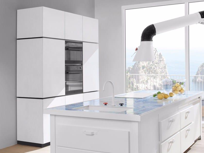 Fenix-NTM® kitchen unit NATURAL SKIN   Kitchen unit by Minacciolo