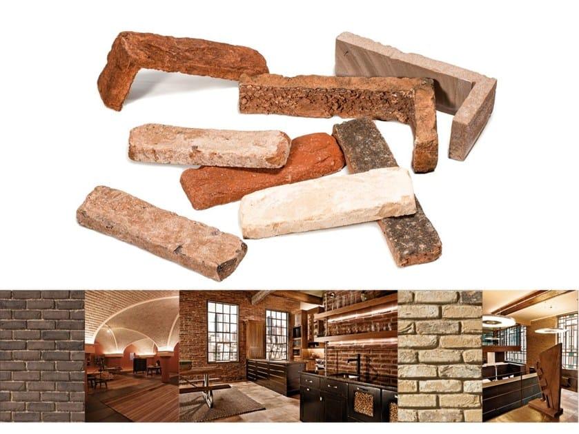Composite material wall tiles TERRAKOTTA NATURALE - GEOPIETRA®