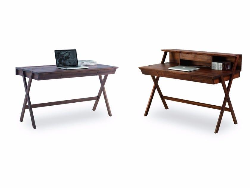 Solid wood secretary desk NAVARRA by Riva 1920