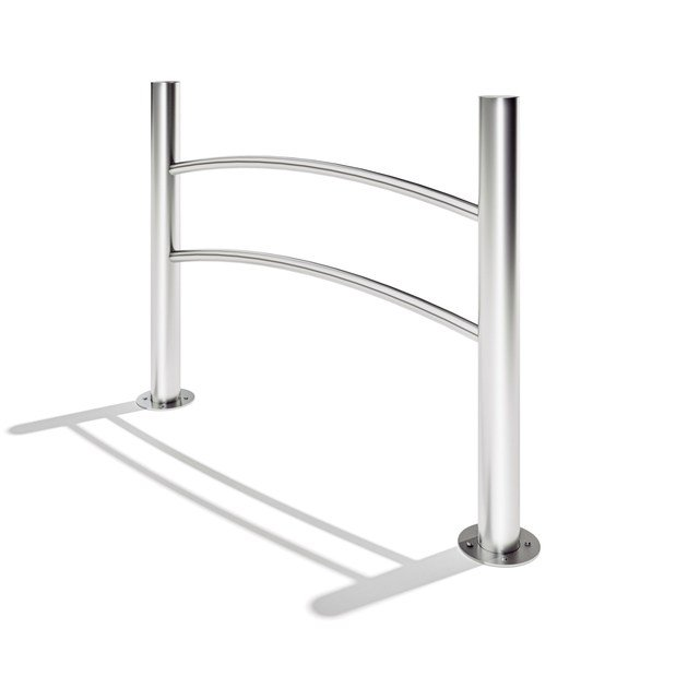 Stainless steel pedestrian barrier NAVY - LAB23