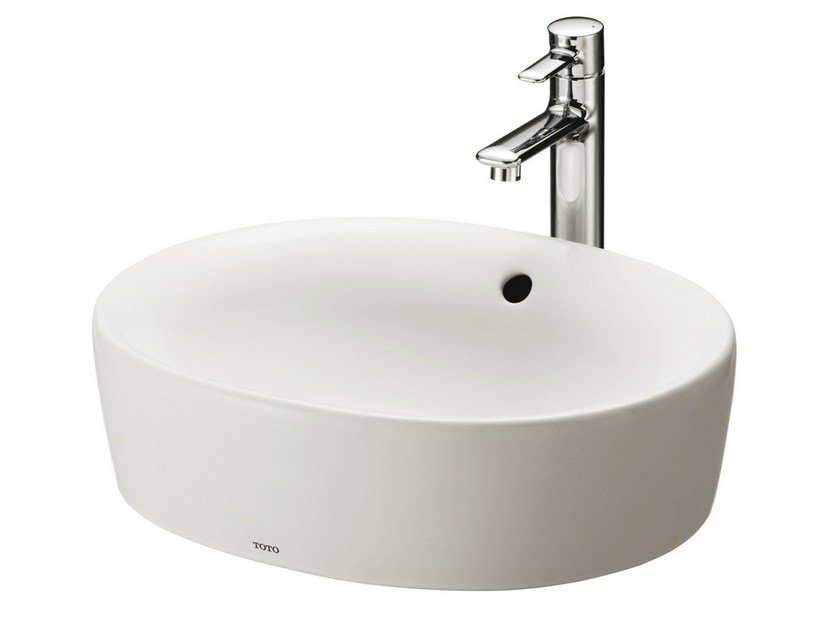Countertop round washbasin NC | Round washbasin - TOTO