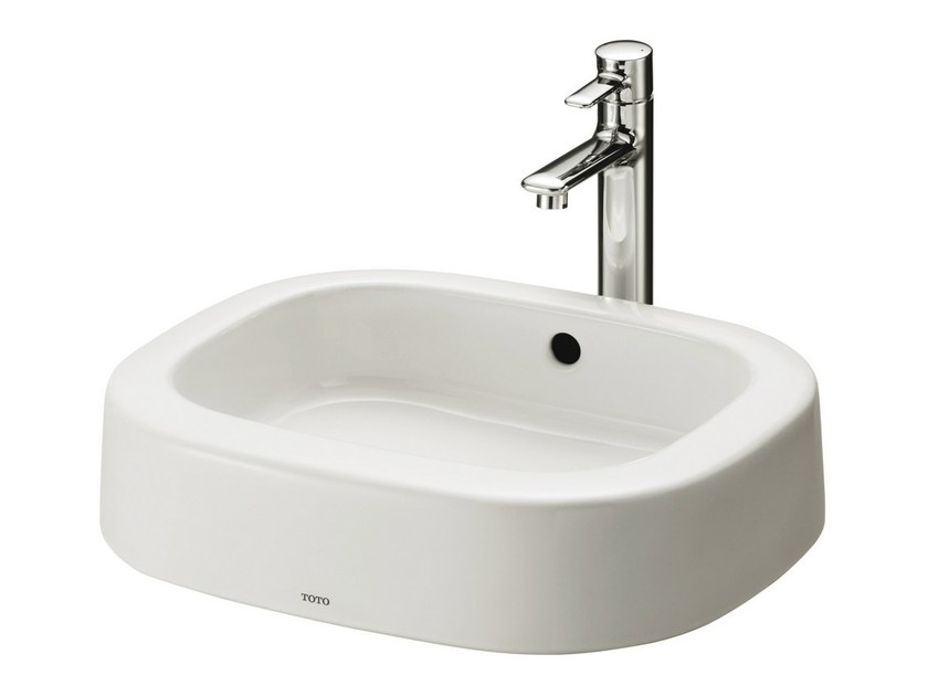 Countertop rectangular washbasin NC | Rectangular washbasin - TOTO