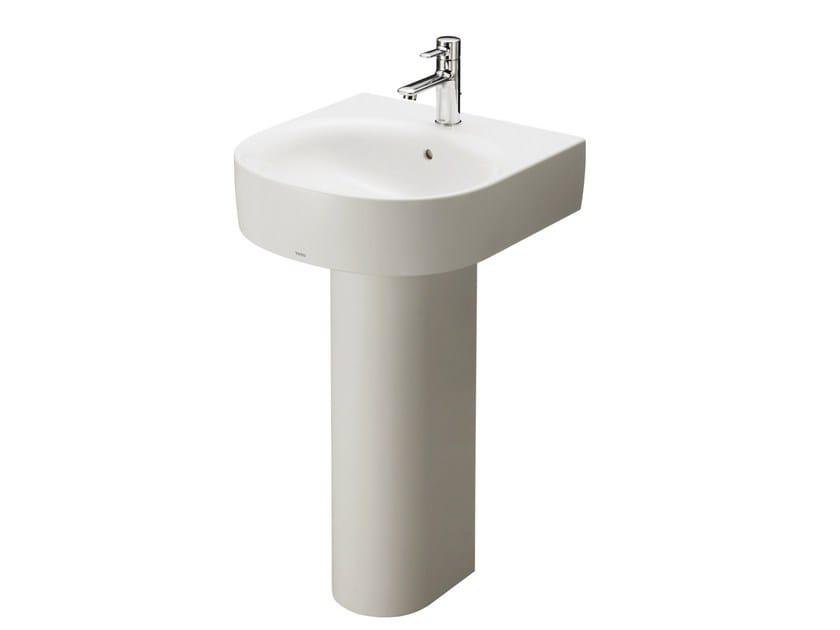 Round pedestal washbasin NC | Pedestal washbasin by TOTO