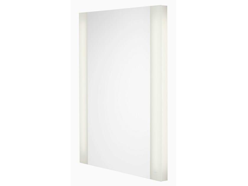 Wall-mounted bathroom mirror with integrated lighting NC | Bathroom mirror - TOTO