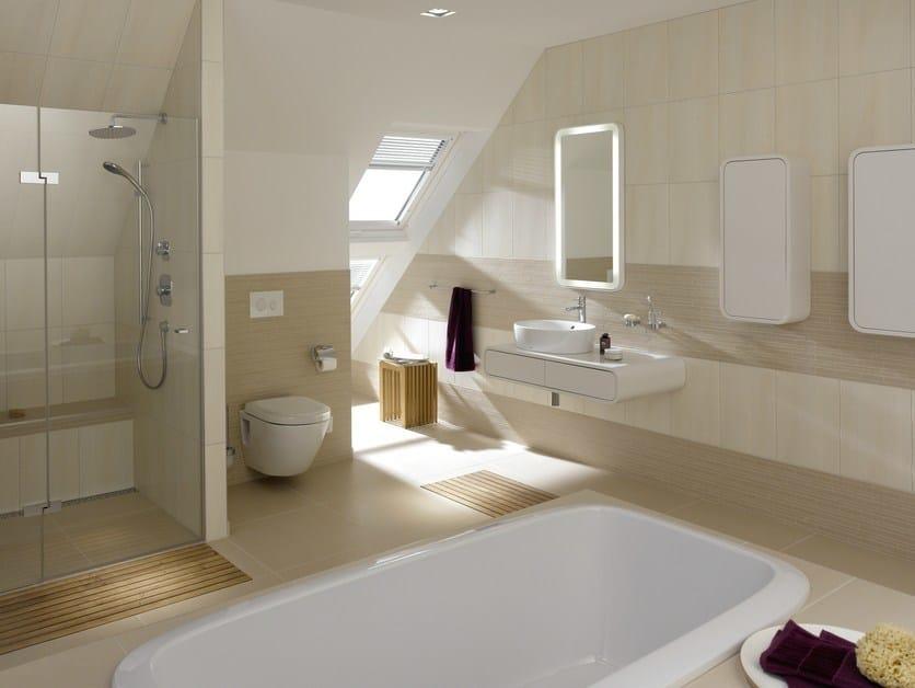 Vasca da bagno ovale in resina NC | Vasca da bagno in resina - TOTO