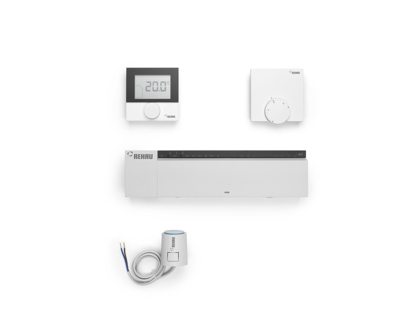 Control system for air conditioning system NEA SMART by REHAU
