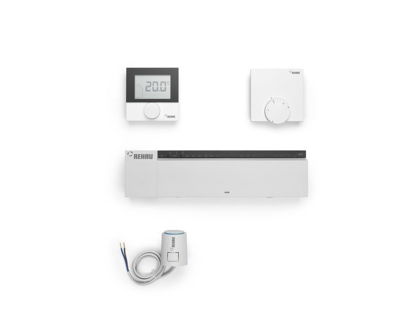 Control system for air conditioning system NEA SMART - REHAU
