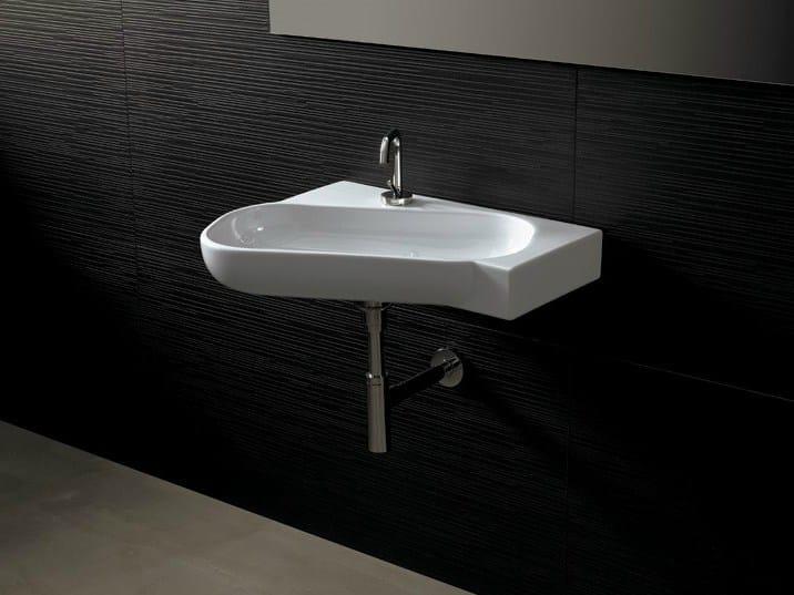 Ceramic washbasin NEAT OBLIQUO | Washbasin by Alice Ceramica