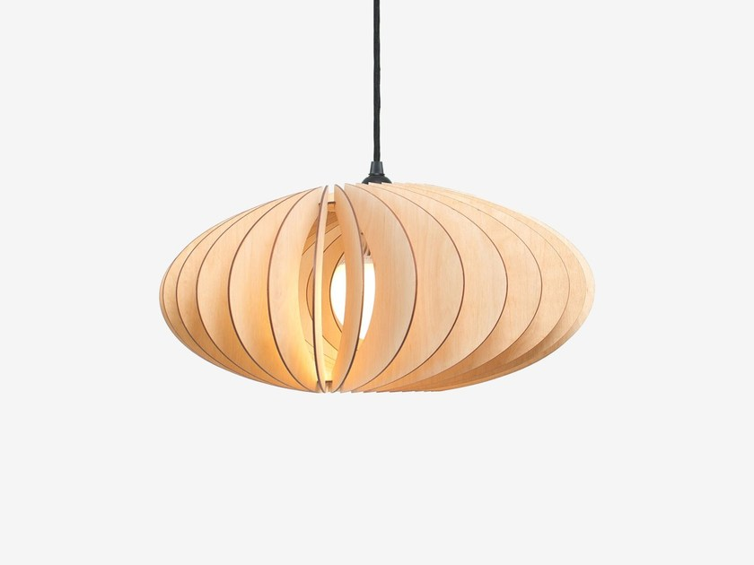 Plywood pendant lamp NEFI by IUMI