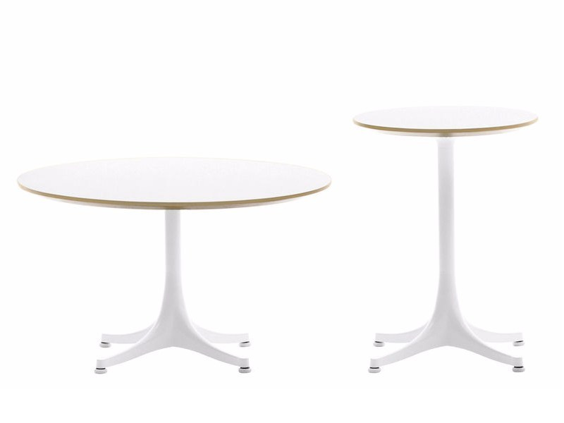 Round coffee table NELSON TABLES - Vitra