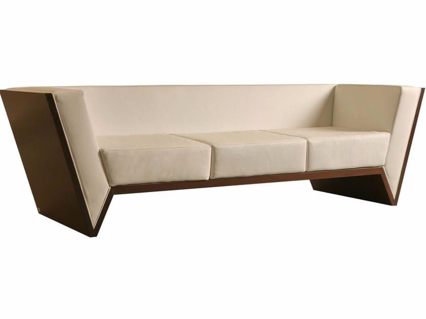 3 seater leather sofa NESSUNDORMA | Sofa - Morelato