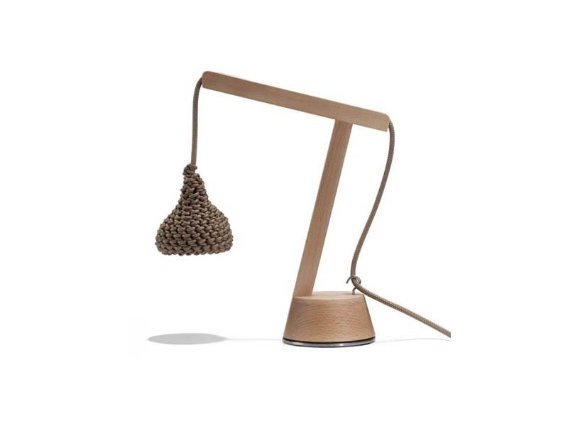 Beech table lamp NEST | Table lamp - Potocco