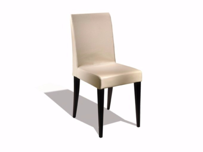 Leather chair NEUILLY | Chair - Canapés Duvivier