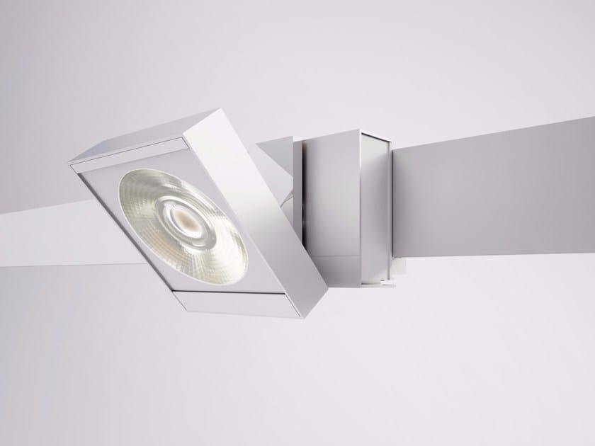 Extruded aluminium Track-Light NEUTRA by Letroh
