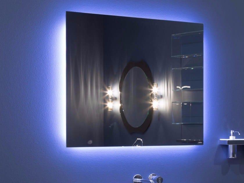 Specchio a parete con illuminazione integrata per bagno NEUTRO & NEUTRO LED - Antonio Lupi Design