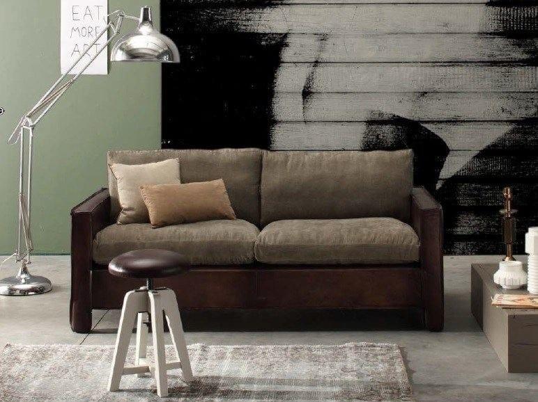 Leather sofa NEVADA | Leather sofa - Devina Nais