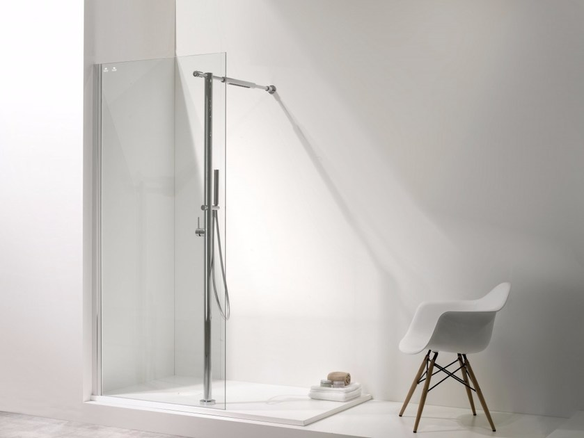 Shower cabin with tray NEW AQUA - Systempool