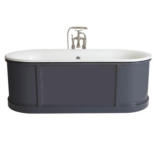 Oval cast iron bathtub NEW CANADA | Bathtub - GENTRY HOME