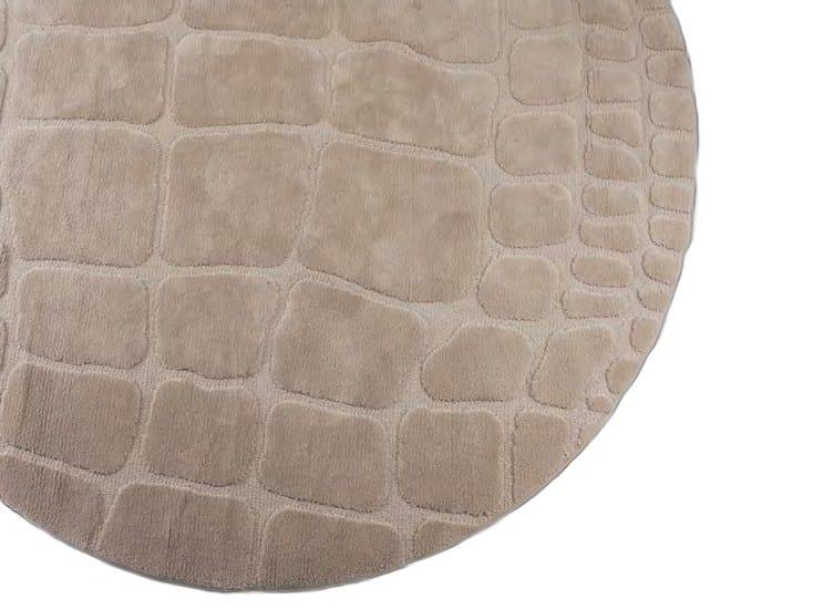 Handmade round rug NEW COCCO RUG | Round rug - Formitalia Group