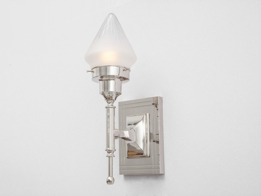 Direct light handmade brass wall lamp NEW YORK III | Wall lamp - Patinas Lighting