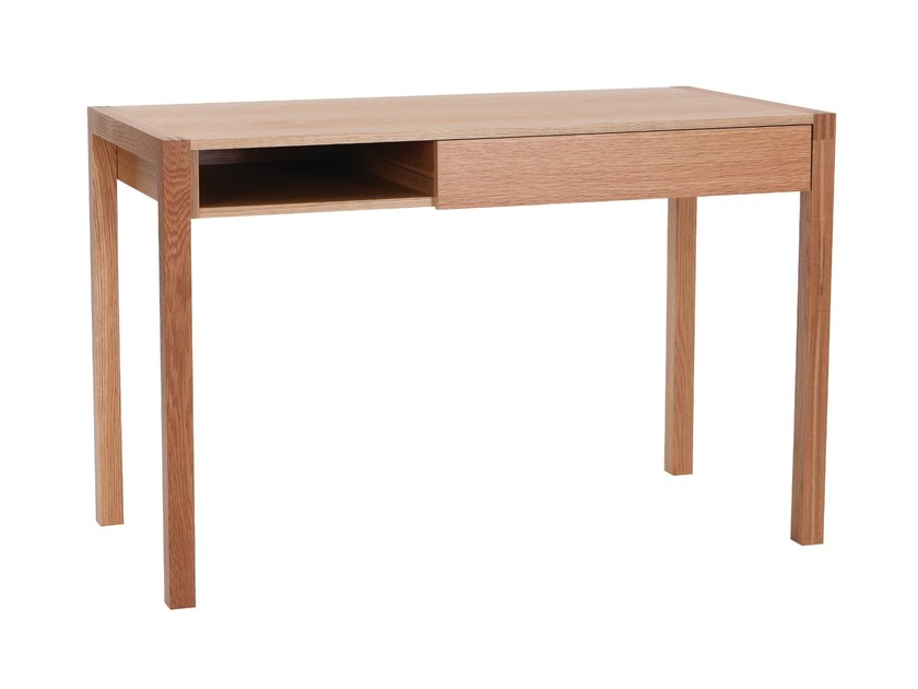 Rectangular wooden writing desk NEWEST | Writing desk - Woodman