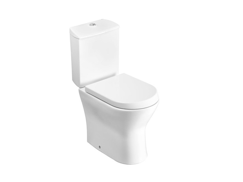 Close coupled toilet with external cistern NEXO | Toilet with external cistern by ROCA SANITARIO