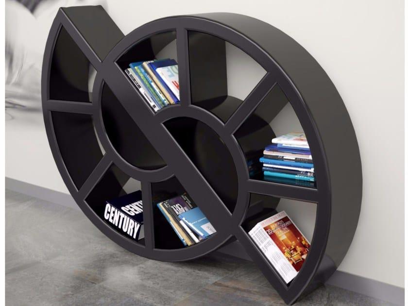 Freestanding wall-mounted Adamantx® bookcase NICOL - ZAD ITALY