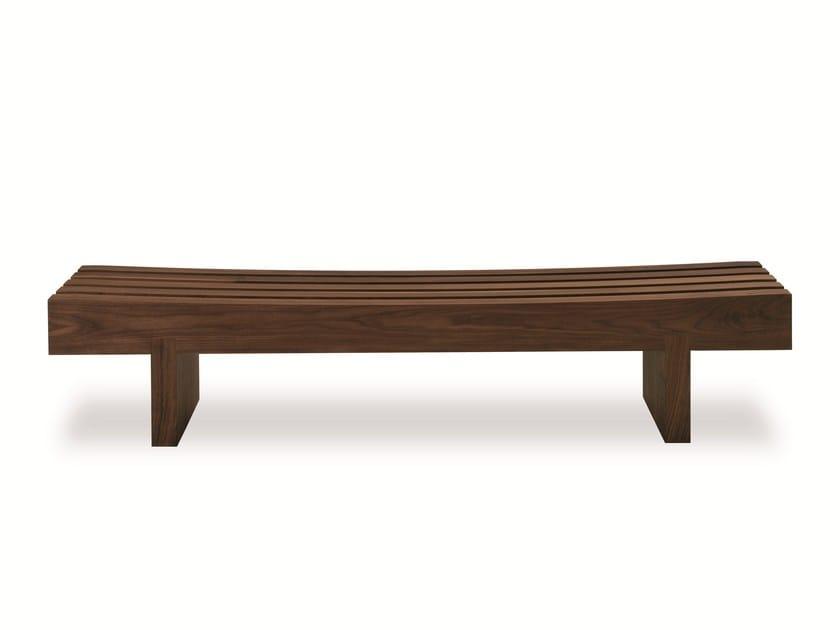 Wooden bench NIGHT-NIGHT BENCH by Riva 1920