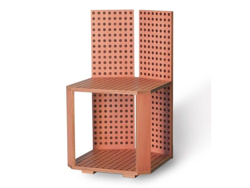 Multi-layer wood chair NIKKO - Morelato