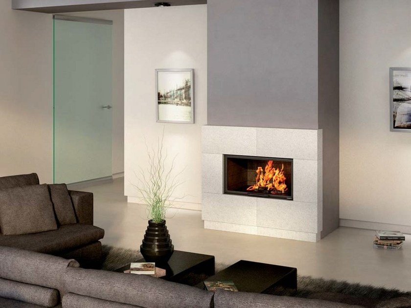 Stone Fireplace Mantel NINA - Axis