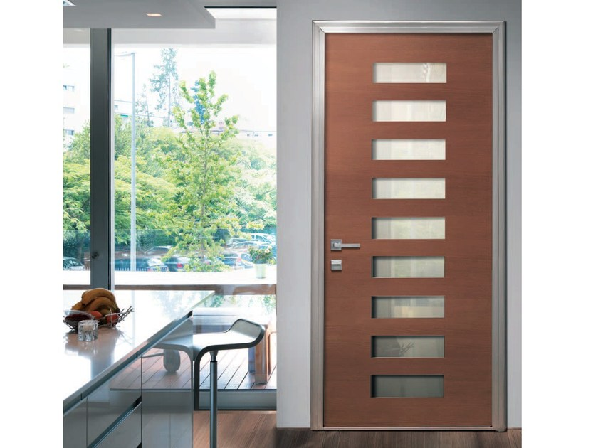 Armoured door panel NINE by Alias Security Doors