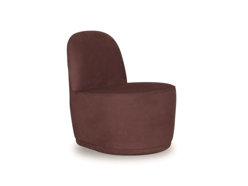 Leather easy chair NINETTE - BAXTER