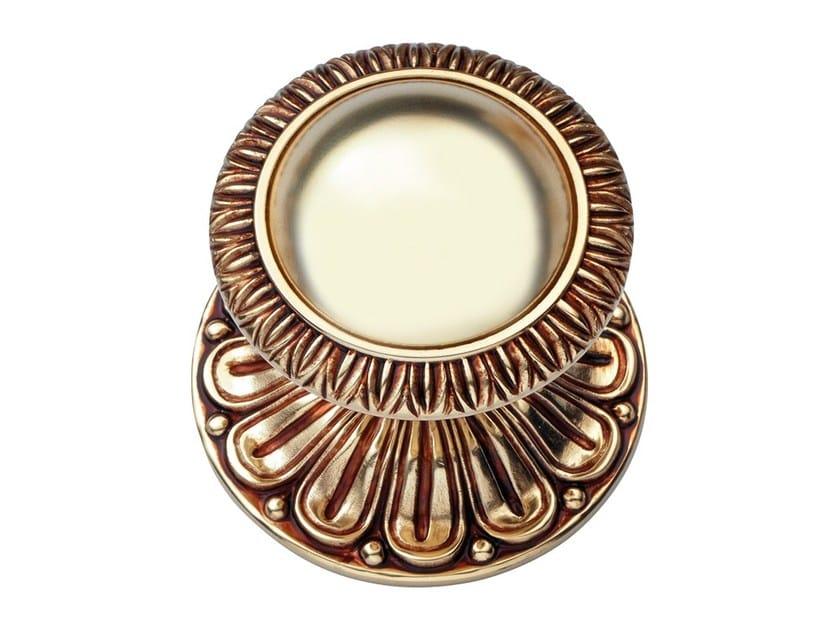 Classic style brass door knob NINFA | Brass door knob - LINEA CALI'